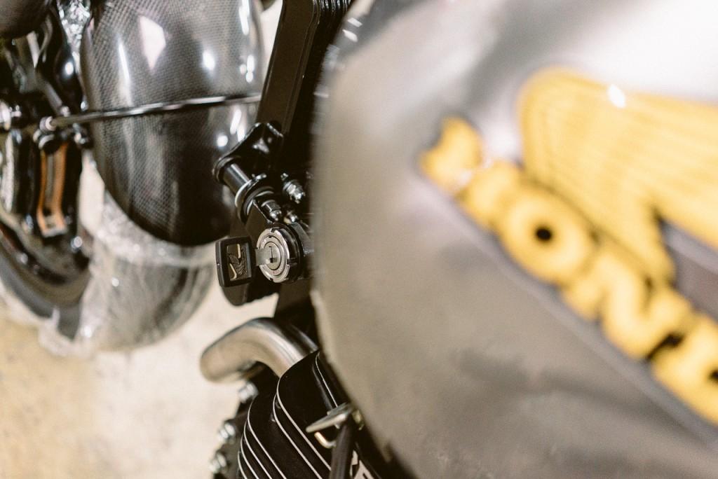 Clé de contact Honda FX650 préparée - Atelier Mécaservices92