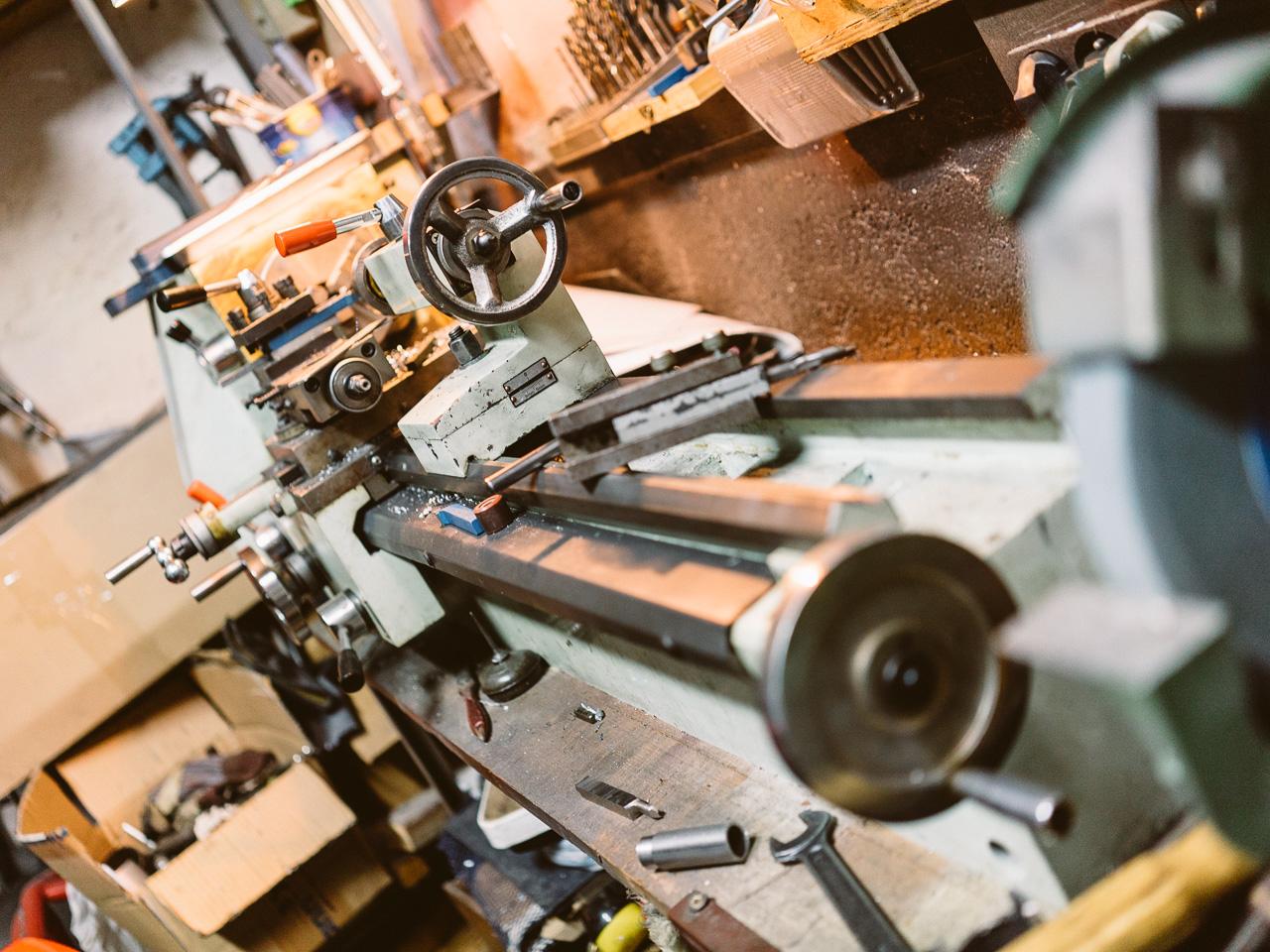 Machine-outils en perspective - Atelier Mécaservices92