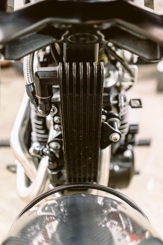 Radiateur Honda FX650 préparée - Atelier Mécaservices92